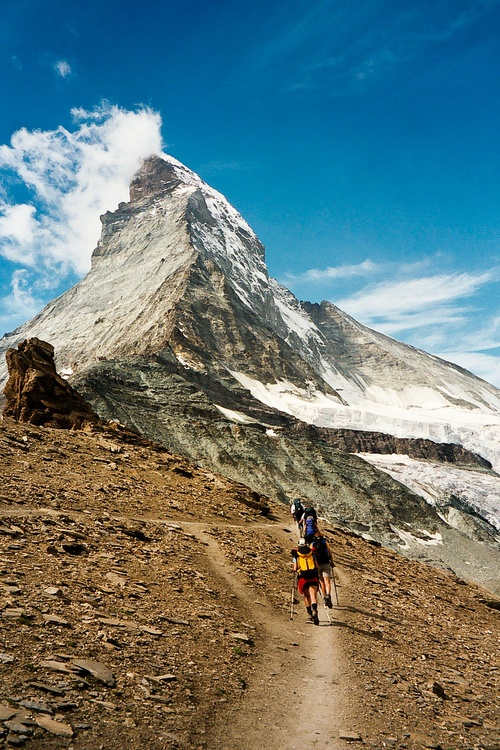 See the real Matterhorn. Until then, Disneyland's will have to do.
