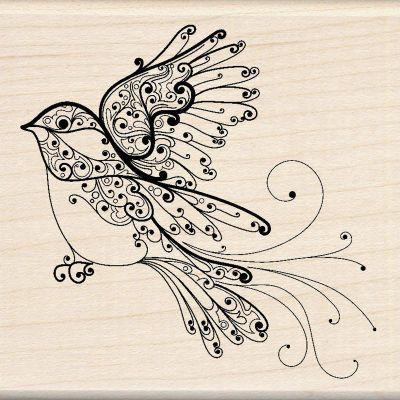 tattooBeautiful Crafts, Henna Birds, Crafts Design, Wood Stamps, Beautiful Birds, Pattern Birds Tattoo, Birds Tattoo Ideas, Birds Pattern Drawing, Birds In Flight
