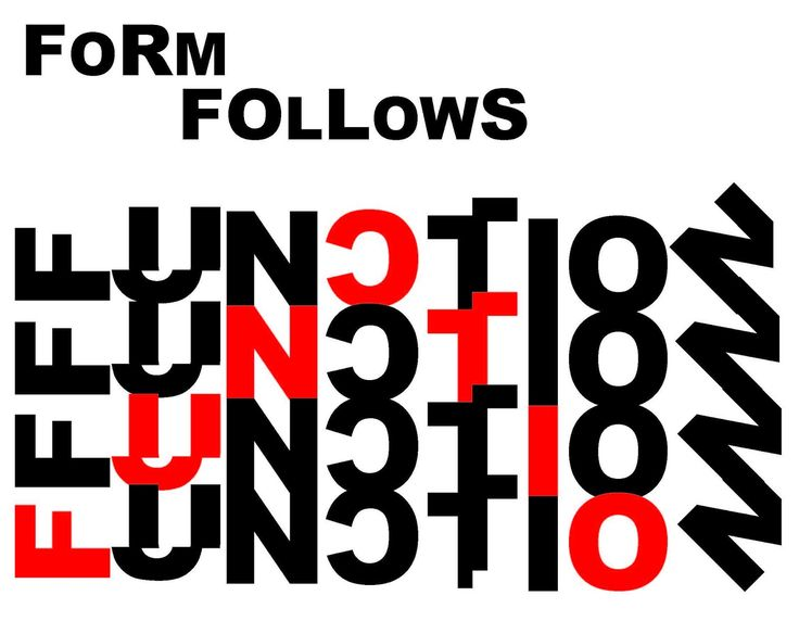 """Form follows function. Some more of Neville's work, emphasising that something functioning is more important than how nice it looks. The point being made is much like Carson's """"don't mistake legibility for communication"""" poster."""