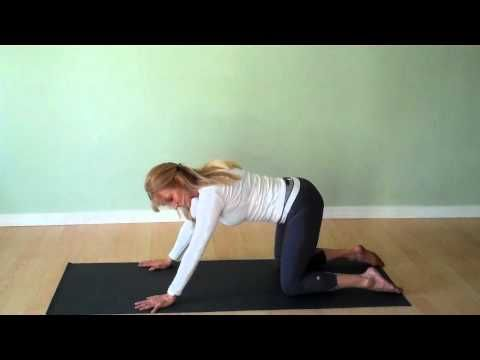 Yoga for Releasing the Psoas with Mimi Solaire  For people who sit all day this is an excellent way to release the lower back and legs