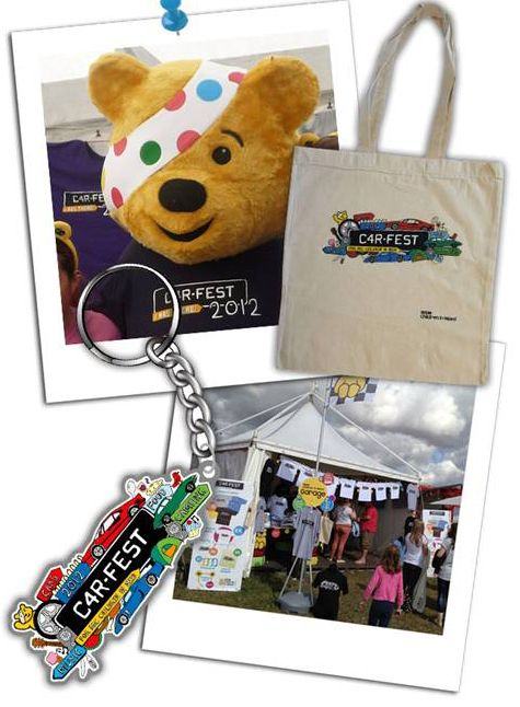 Branded merchandise for Children in Need charity