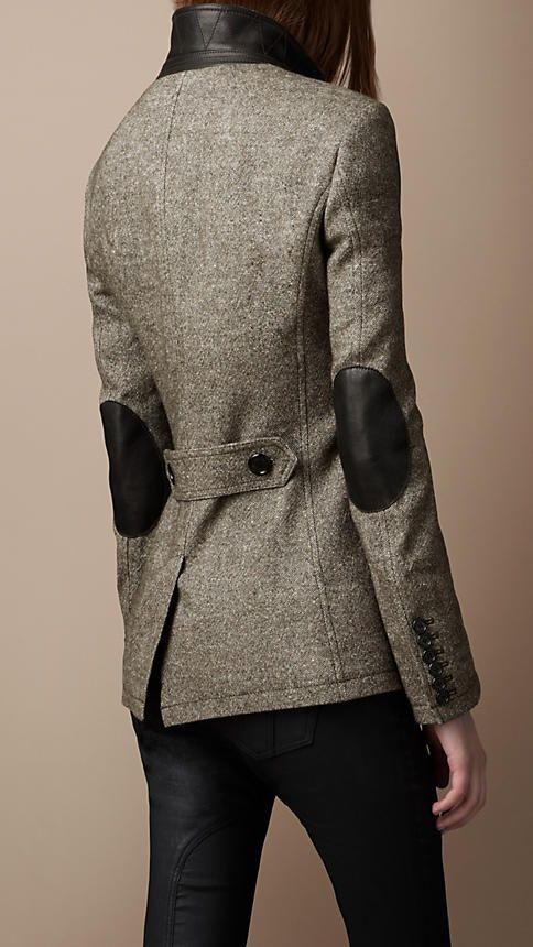 Tweed and elbow patches, what more do you need in life?!