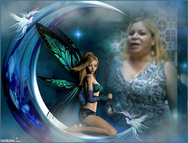Blue Green Fairy and Me