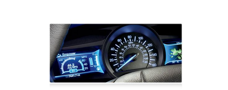 2014 Ford Fusion - Next-generation SmartGauge® with EcoGuide