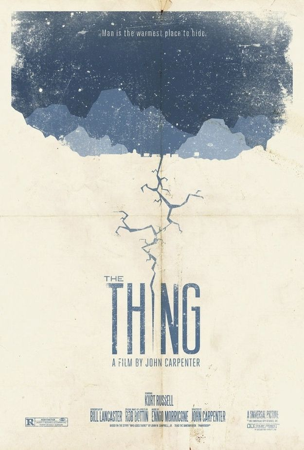 The Thing | 24 Unofficial Movie Posters That Are Better Than The Real Posters