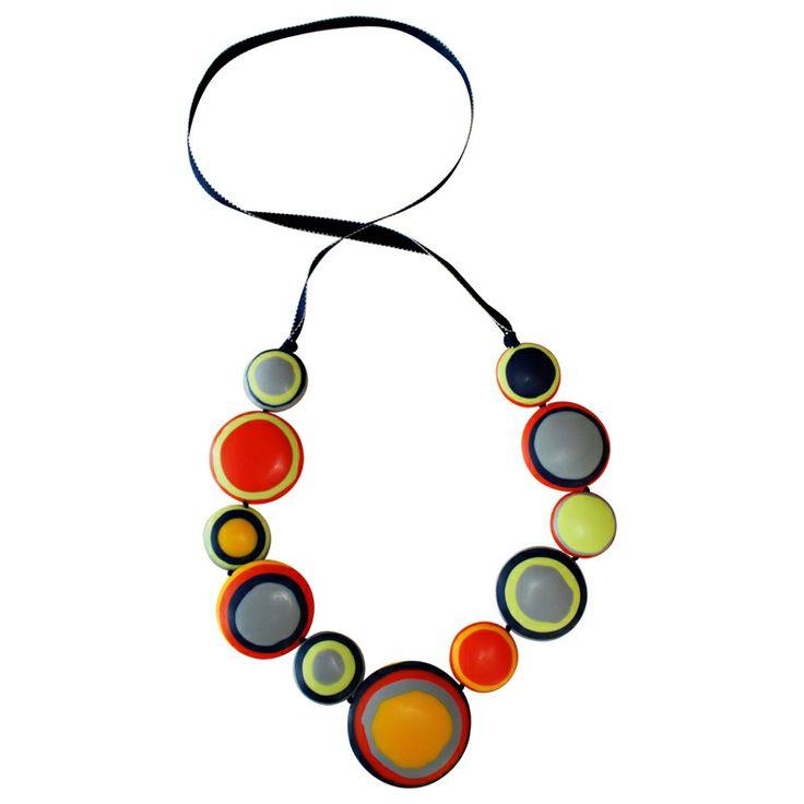 Sahara disc necklace