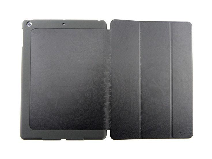 Bugs Smartcase iPad Air Hoes Case Skull Zwart