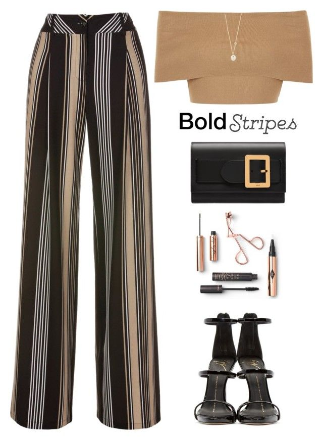"""Striped Pants - Polyvore Contest♡"" by yexyka ❤ liked on Polyvore featuring Blue Vanilla, Bally, ZoÃ« Chicco, Giuseppe Zanotti, stripedpants, polyvorecontest and BoldStripes"