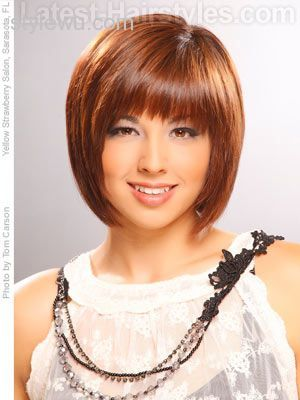 bob hairstyles with bangs 2016 - Google Search