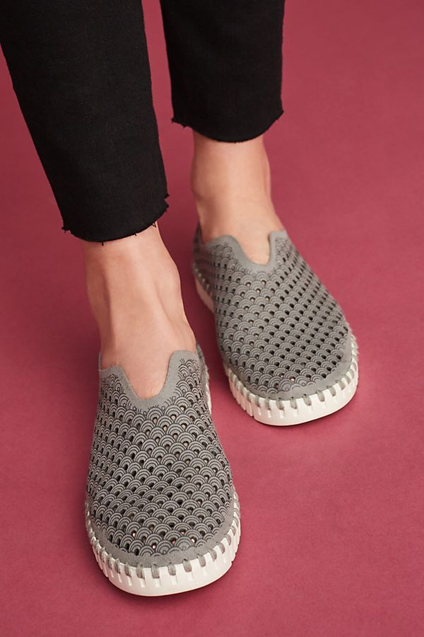 Ilse Jacobsen Tulip Perforated Sneakers