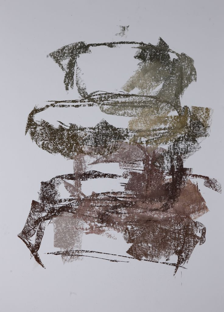Michael Třeštík, Untitled, 2016, pastel A1