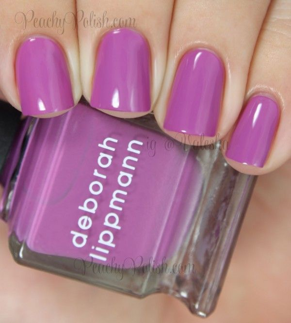 Nail Polish Colors For Younger Looking Hands: Deborah Lippmann: Good Vibrations From The Summer 2014