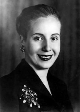 María Eva Duarte de Perón (1919 – 1952) died when she was just 33. She was the wife of Argentine President Juan Perón and served as the First Lady from 1946. She became a powerful political figure in Argentina with a large support base amongst the poor and working class. She inspired millions with her campaigns to help the poor and give women the right to vote. She is usually referred to by the affectionate Spanish language diminutive Evita.