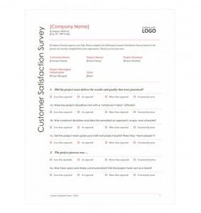 Customer Survey Checklist #template #checklist