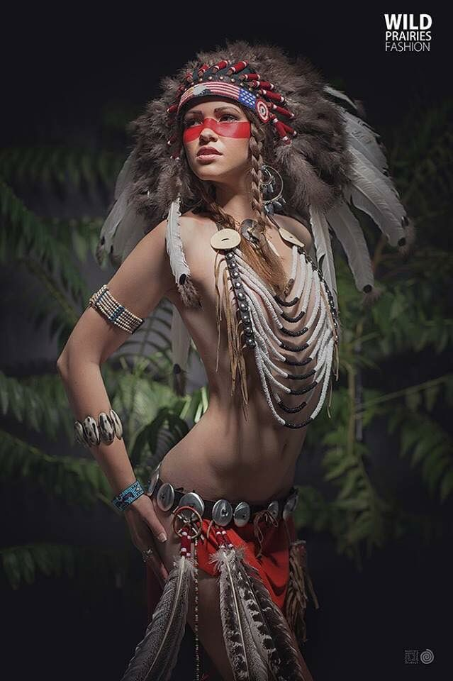 naked native american woman art