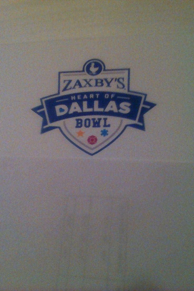 #tickets ZAXBY'S HEART OF DALLAS BOWL 3 GENERAL ADMISSION TICKETS. UTAH VS WEST. VIRGINIA please retweet