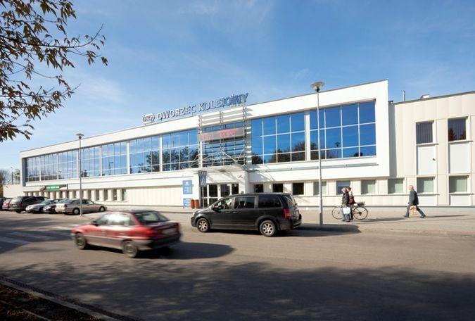 Dworzec w Terespolu