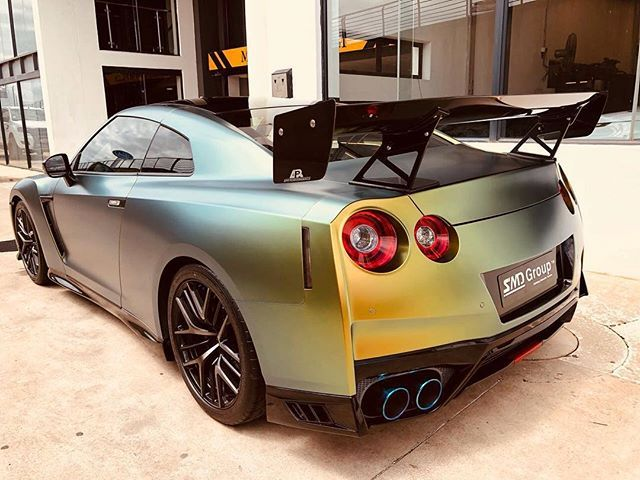 That is one mean looking GT-R  That APR wing really suits it    Congrats to the new owner @realdanduminy   #ExoticSpotSA #Zero2Turbo #SouthAfrica #Nissan #GTR #APRPerformance