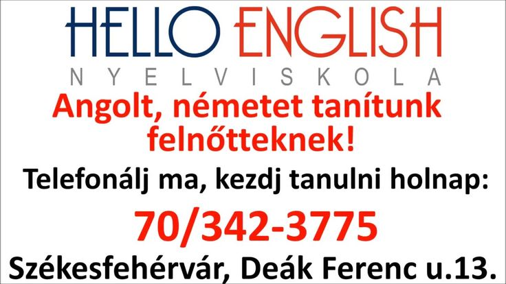 Hello English Nyelviskola Székesfehérvár