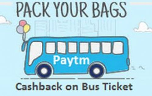 Paytm Bus Free Ride Offers – Get 100% cashback on Bus Travel