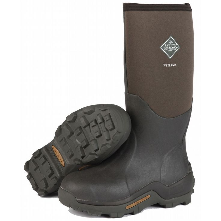 Keep your feet comfortable and dry with Wetland Muck Boots. Farmers Co-Op  Elevator