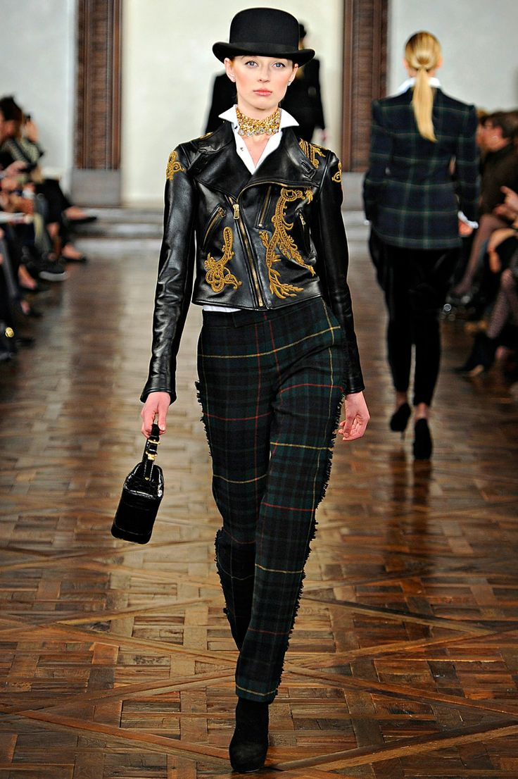 Ralph Lauren Fall 2012 Rtw Review Collections Vogue Fashion Inspiration Pinterest