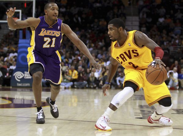 kyrie irving  crossover