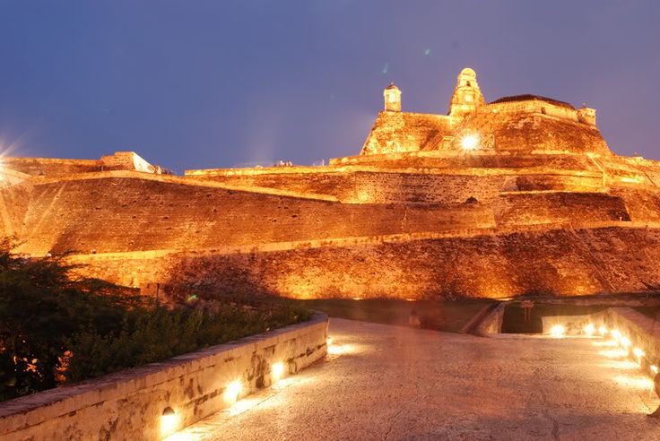 ♥...Castillo San Felipe, Cartagena.