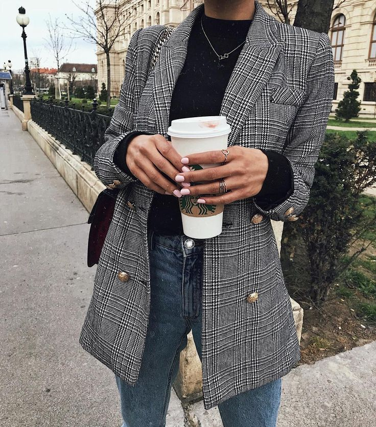 Plaid blazer, fall outfits, cute outfits, back to school, school outfits, turtle