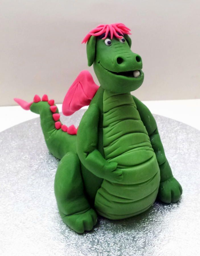 Pete's Dragon Cake Topper