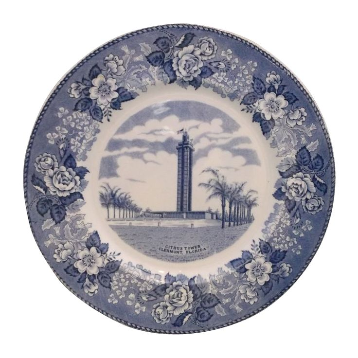 Florida Citrus Tower Blue Transferware Staffordshire England Alfred Meakin Souvenir Plate · Travel SouvenirsChina ...  sc 1 st  Pinterest & 46 best Alfred Meakin images on Pinterest | Alfred meakin Porcelain ...