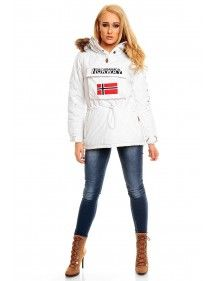 Chaqueta Geographical Norway Bulding white
