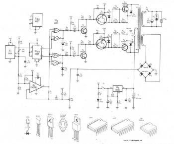 300watt inverter circuit diagram pcb layout electronic circuit300watt inverter circuit diagram pcb layout