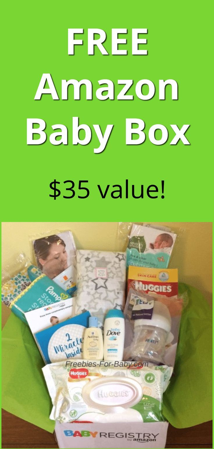 Free Amazon Baby Registry Welcome Box 35 Value Free Baby