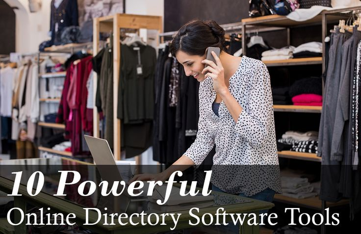 If you're looking to set up an online directory, try one of these powerful tools.
