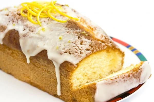 Receta de Torta de naranja glaseada
