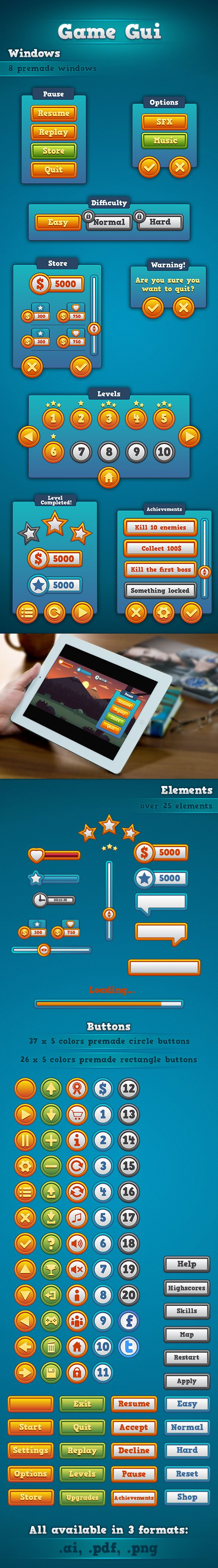 Game GUI for sale! http://graphicriver.net/item/game-gui/9080744