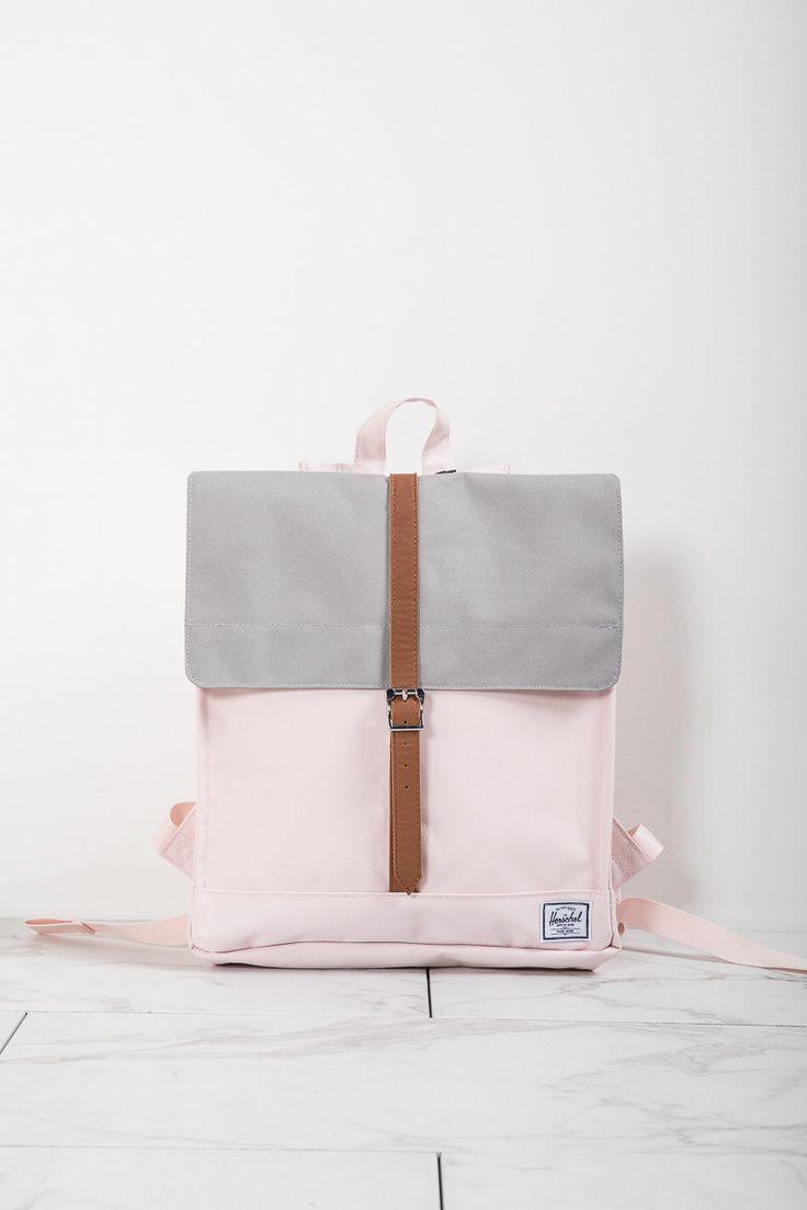Herschel: City Backpack | Mid-Volume in Cloud Pink