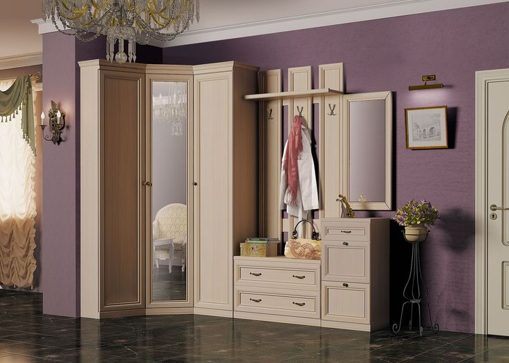 http://taizh.com/wp-content/uploads/2014/11/Fascinating-wooden-corner-wardrobe-design-with-mirror-the-middle-as-well-complited-drawer-vanity-including-purple-paintig-wall-decor-plus-black-tile-floor.jpg