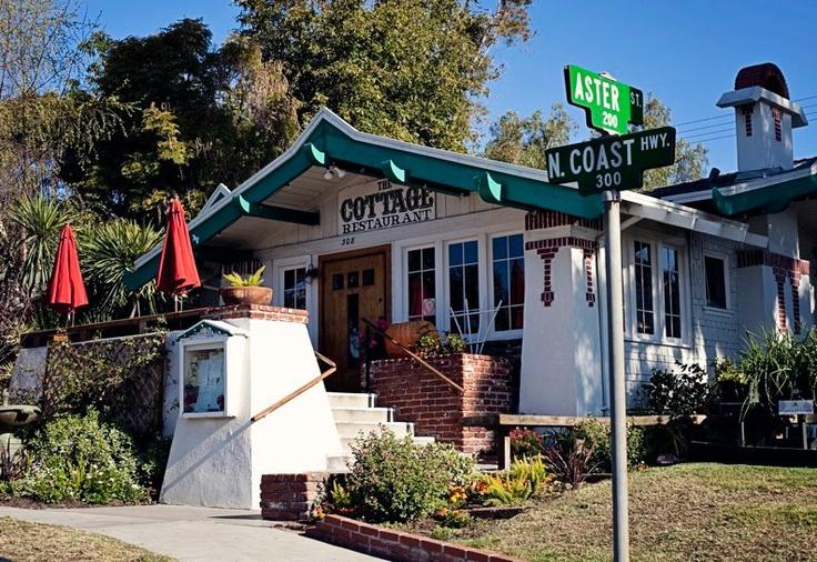The cottage restaurant. Laguna Beach