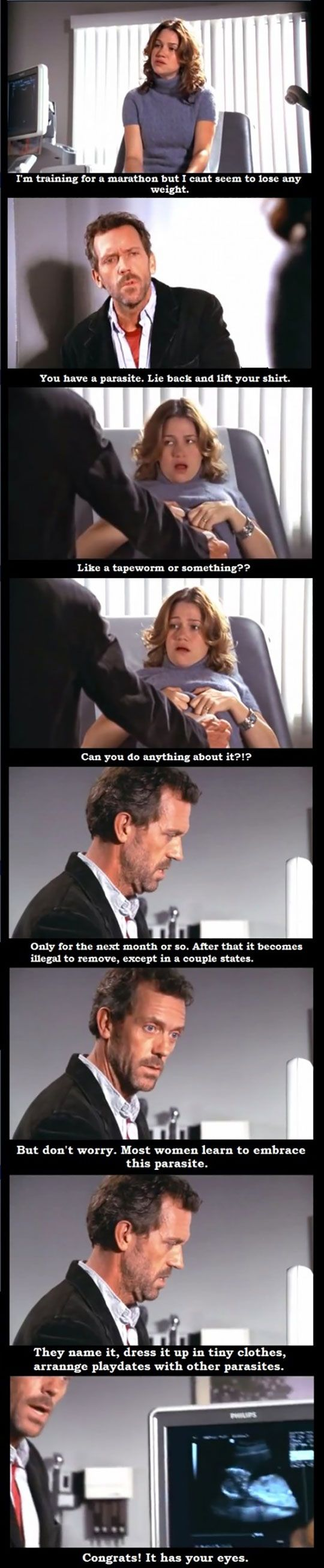 One of my favorite House scenes
