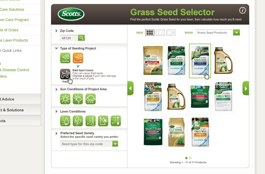 Scotts Grass Seed Selector (4 of 4)