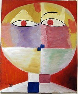 Oil Painting on Paper by Paul Klee : Lot 527                                                                                                                                                                                 More