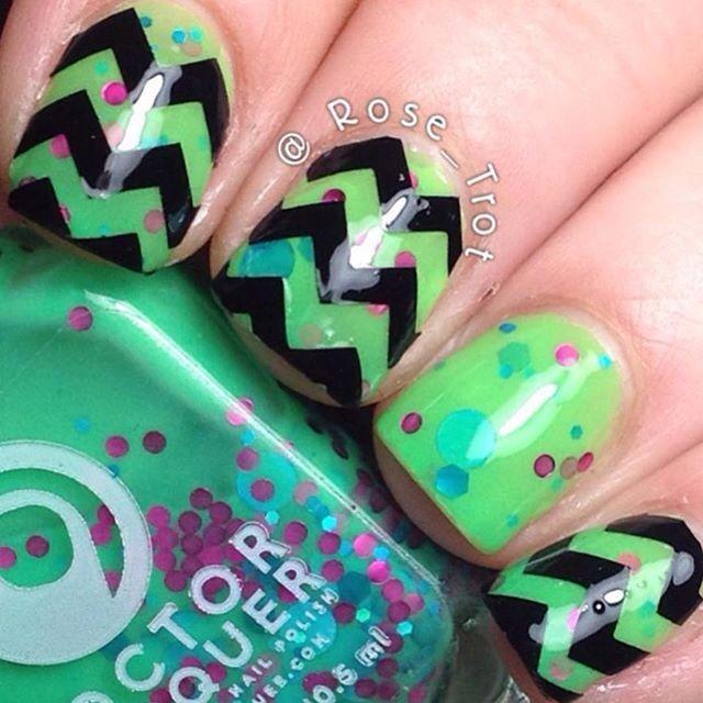 Mejores 10 imágenes de Uñas!!! en Pinterest | Decoración de uñas ...