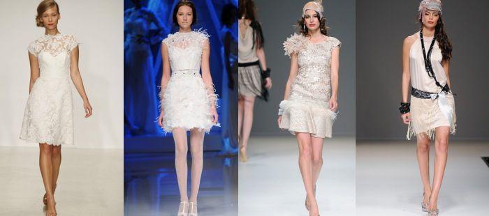 Vestidos de novia cortos, ¡perfectos para el verano!
