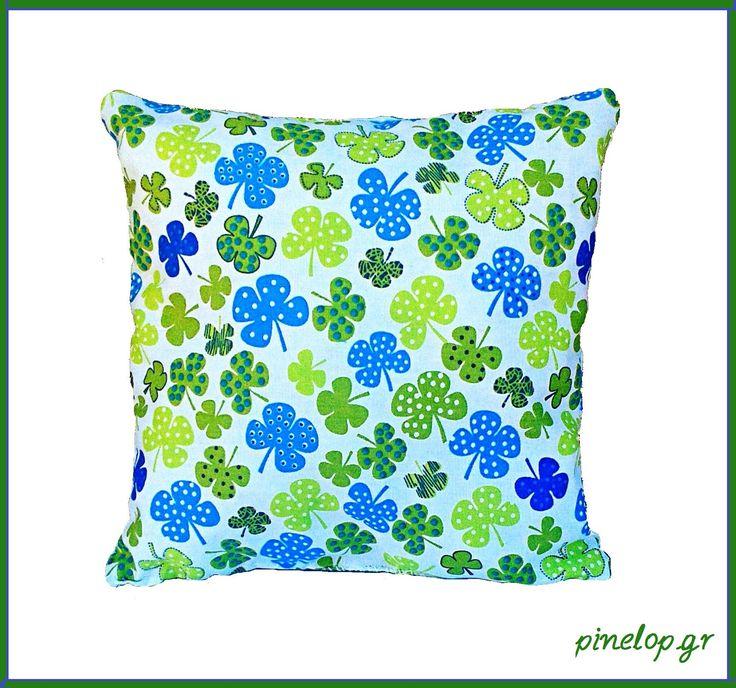 Handmade baby pillow from cotton fabric!! pinelop.gr facebook.com/pinelopkallitexnimata