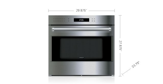 """Wolf 30"""" E Series Professional Built-In Single Oven SO30PE/S/PH"""