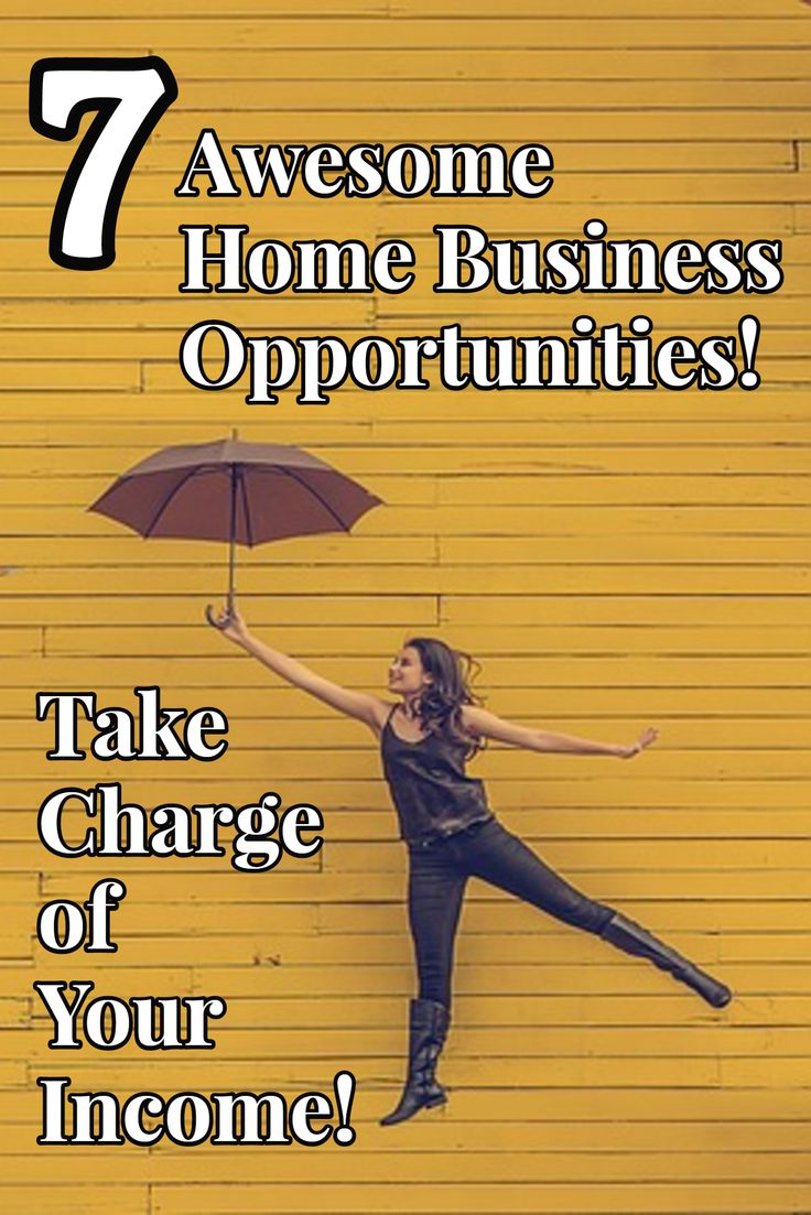 7 Awesome Home Business Opportunities For Moms
