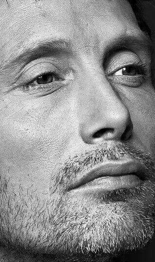 Mads Mikkelsen he's beautiful More