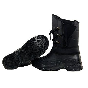 Winter Warm Men Snow Boots 1800D Oxford Waterproof Fabric Fishing Skiing Half Boots Sale - Banggood.com